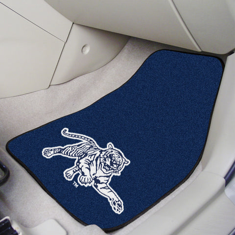 Jackson State 2-piece Carpeted Car Mats 17x27 - FANMATS - Dropship Direct Wholesale