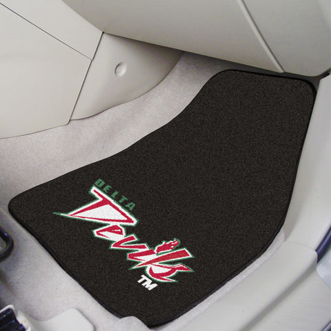 Mississippi Valley State 2-piece Carpeted Car Mats 17x27 - FANMATS - Dropship Direct Wholesale