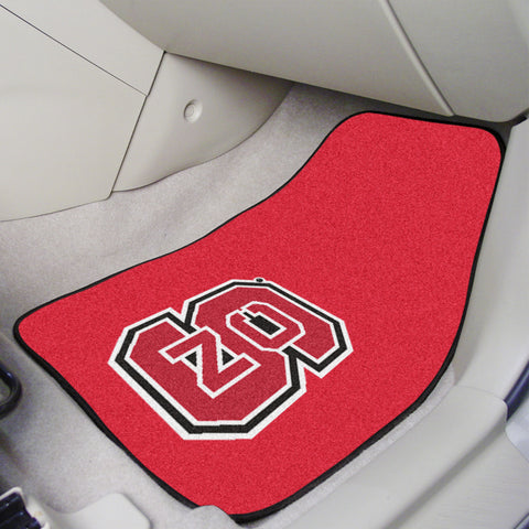 NC State 2-piece Carpeted Car Mats 17x27 - FANMATS - Dropship Direct Wholesale