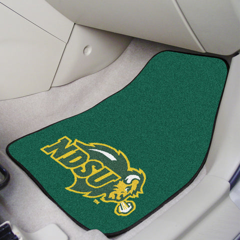 North Dakota State 2-piece Carpeted Car Mats 17x27 - FANMATS - Dropship Direct Wholesale