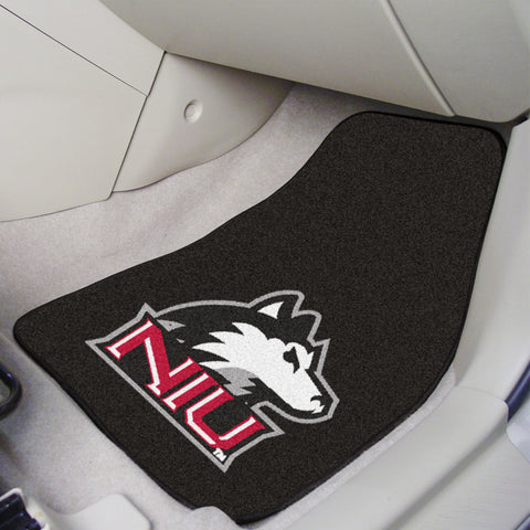 Northern Illinois University 2-piece Carpeted Car Mats 17x27 - FANMATS - Dropship Direct Wholesale