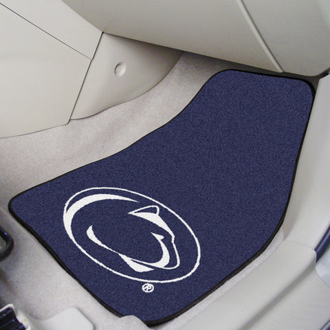 Penn State 2-piece Carpeted Car Mats 17x27 - FANMATS - Dropship Direct Wholesale