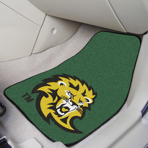 Southeastern Louisiana U 2-piece Carpeted Car Mats 17x27 - FANMATS - Dropship Direct Wholesale