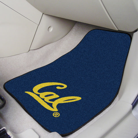 UC Berkeley 2-piece Carpeted Car Mats 17x27 - FANMATS - Dropship Direct Wholesale