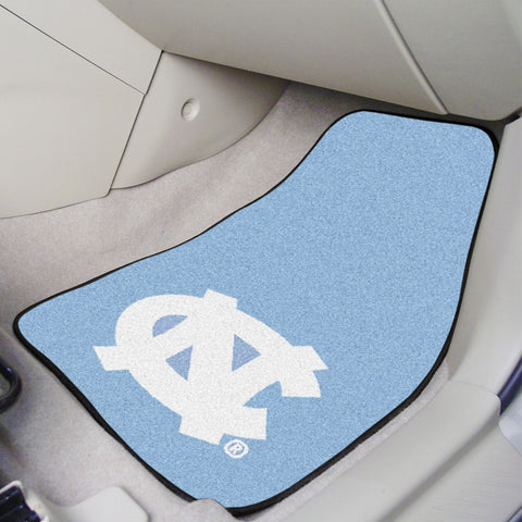 UNC - Chapel Hill 2-piece Carpeted Cat Mats 17x27 - FANMATS - Dropship Direct Wholesale