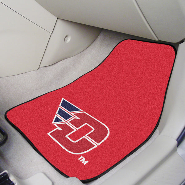 University of Dayton 2-piece Carpeted Car Mats 17x27 - FANMATS - Dropship Direct Wholesale