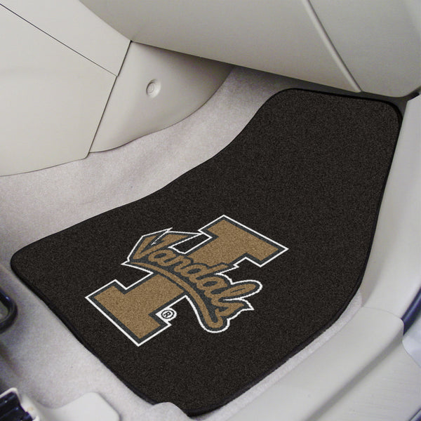 University of Idaho 2-piece Carpeted Car Mats 17x27 - FANMATS - Dropship Direct Wholesale