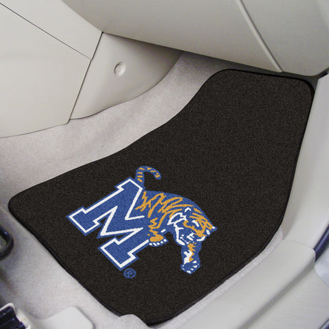 University of Memphis 2-piece Carpeted Car Mats 17x27 - FANMATS - Dropship Direct Wholesale