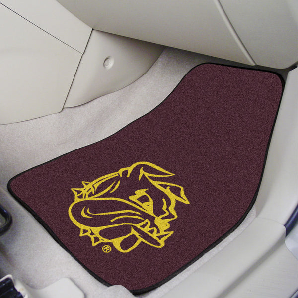 University of Minnesota-Duluth 2-piece Carpeted Car Mats 17x27 - FANMATS - Dropship Direct Wholesale