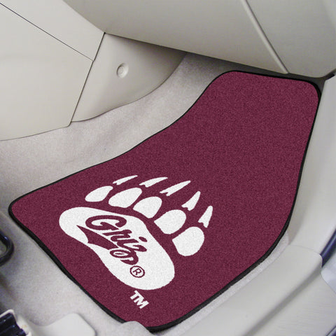 University of Montana 2-piece Carpeted Car Mats 17x27 - FANMATS - Dropship Direct Wholesale