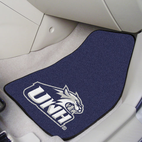 University of New Hampshire 2-piece Carpeted Car Mats 17x27 - FANMATS - Dropship Direct Wholesale