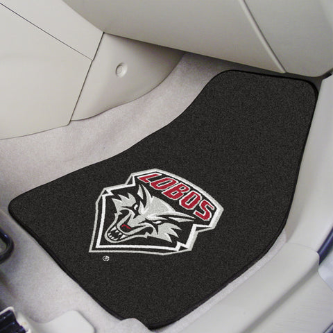 University of New Mexico 2-piece Carpeted Car Mats 17x27 - FANMATS - Dropship Direct Wholesale