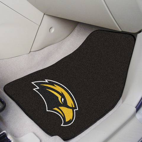 University of Southern Mississippi 2-piece Carpeted Car Mats 17x27 - FANMATS - Dropship Direct Wholesale