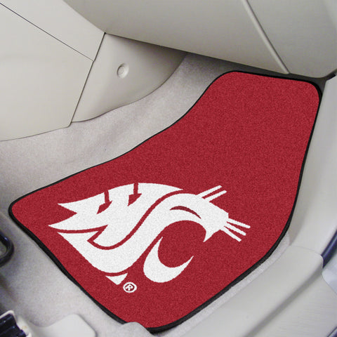Washington State 2-piece Carpeted Car Mats 17x27 - FANMATS - Dropship Direct Wholesale