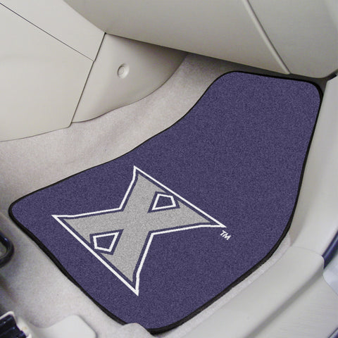 Xavier University 2-piece Carpeted Car Mats 17x27 - FANMATS - Dropship Direct Wholesale