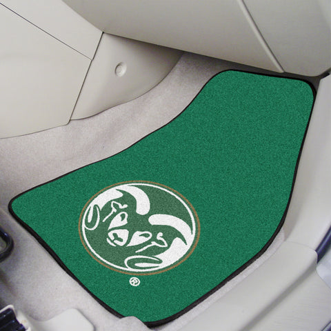 Colorado State 2-piece Carpeted Car Mats 17x27 - FANMATS - Dropship Direct Wholesale