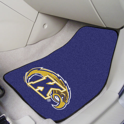 Kent State 2-piece Carpeted Car Mats 17x27 - FANMATS - Dropship Direct Wholesale