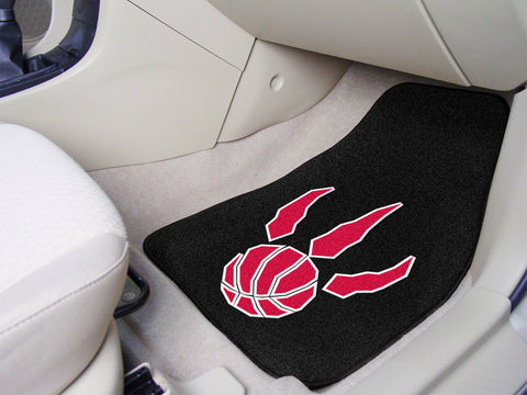 NBA - Toronto Raptors 2-piece Carpeted Car Mats 17x27 - FANMATS - Dropship Direct Wholesale