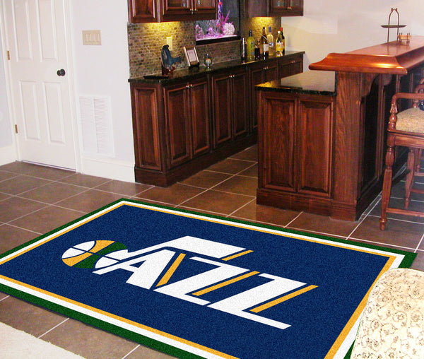 NBA - Utah Jazz Rug 5x8 - FANMATS - Dropship Direct Wholesale