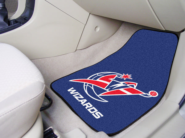 NBA - Washington Wizards 2-piece Carpeted Car Mats 17x27 - FANMATS - Dropship Direct Wholesale