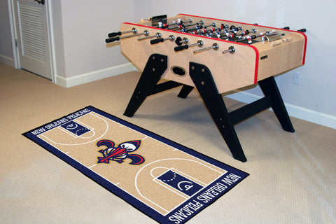 NBA - New Orleans Pelicans NBA Court Runner 24x44 - FANMATS - Dropship Direct Wholesale
