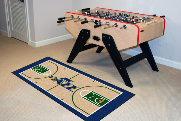 NBA - Utah Jazz NBA Court Runner 24x44 - FANMATS - Dropship Direct Wholesale