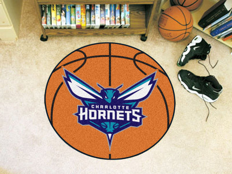 NBA - Charlotte Hornets Basketball Mat 27 diameter - FANMATS - Dropship Direct Wholesale