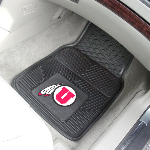 University of Utah 2-pc Vinyl Car Mat Set