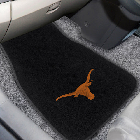 University of Texas 2-piece Embroidered Car Mats 18x27 - FANMATS - Dropship Direct Wholesale