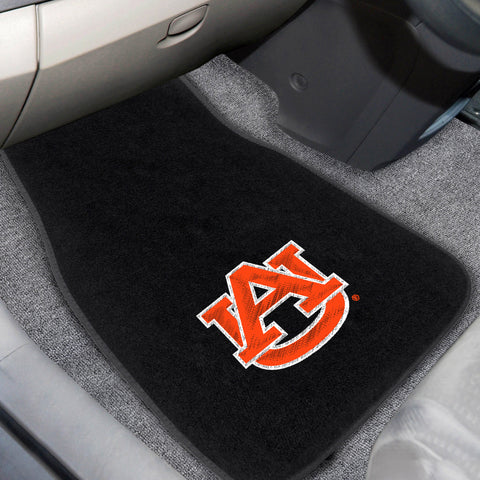 "Auburn University 2-piece Embroidered Car Mats 18""x27"" - FANMATS - Dropship Direct Wholesale"