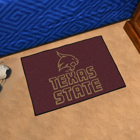 Texas State San Marcos Starter Rug 20x30 - FANMATS - Dropship Direct Wholesale
