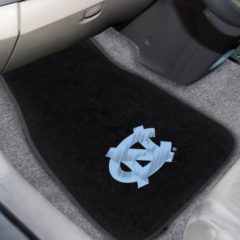 UNC - Chapel Hill 2-piece Embroidered Car Mats 18x27 - FANMATS - Dropship Direct Wholesale
