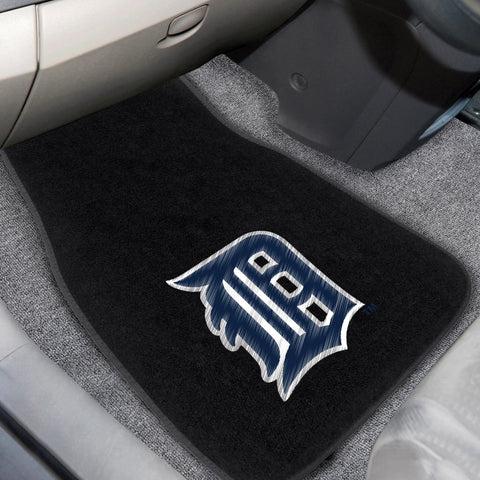 Detroit Tigers 2-piece Embroidered Car Mats 18x27 - FANMATS - Dropship Direct Wholesale