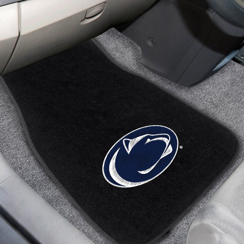 Penn State 2-piece Embroidered Car Mats 18x27 - FANMATS - Dropship Direct Wholesale