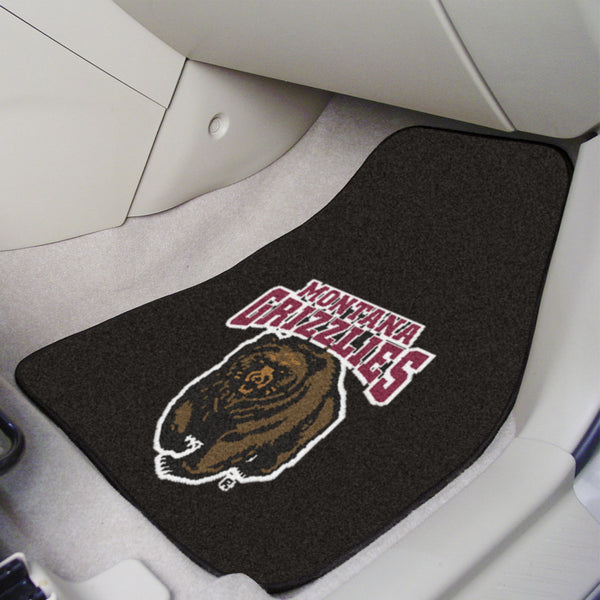 University of Montana 2-pc Printed Carpet Car Mats 17x27 - FANMATS - Dropship Direct Wholesale