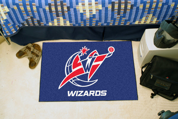 NBA - Washington Wizards Starter Rug 19 x 30 - FANMATS - Dropship Direct Wholesale