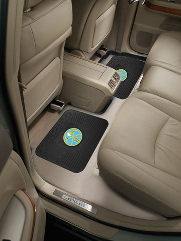 NBA - Denver Nuggets Backseat Utility Mats 2 Pack 14x17 - FANMATS - Dropship Direct Wholesale