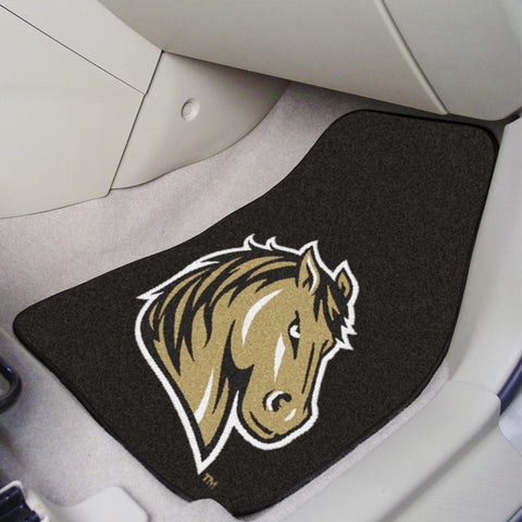 Southwest Minnesota State 2-piece Carpeted Car Mats 17x27 - FANMATS - Dropship Direct Wholesale
