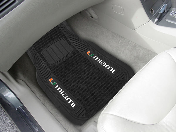 University of Miami Deluxe Mat 21x27 - FANMATS - Dropship Direct Wholesale