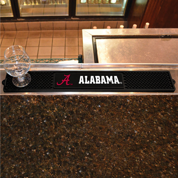 University of Alabama Drink Mat 3.25x24 - FANMATS - Dropship Direct Wholesale