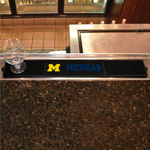 University of Michigan Drink Mat 3.25x24 - FANMATS - Dropship Direct Wholesale