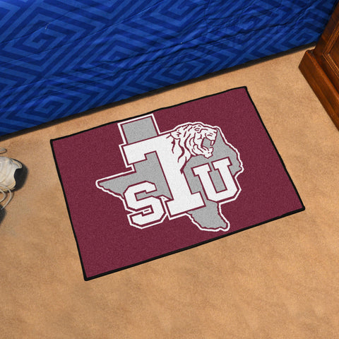 Texas Southern University Starter Mat 19x30 - FANMATS - Dropship Direct Wholesale