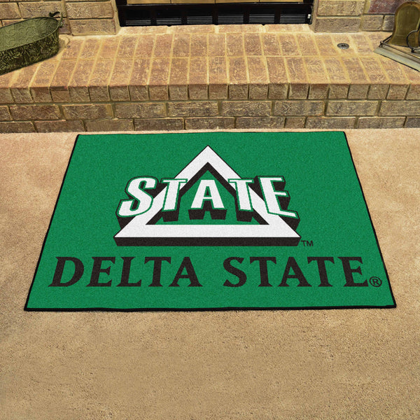Delta State All-Star Mat 33.75x42.5 - FANMATS - Dropship Direct Wholesale