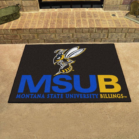 Montana State - Billings All-Star Mat 33.75x42.5 - FANMATS - Dropship Direct Wholesale