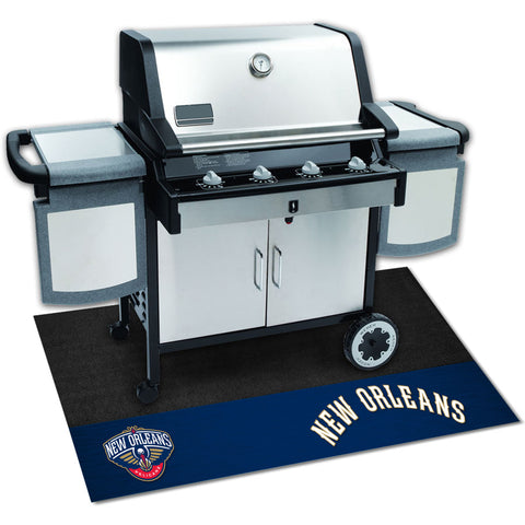 NBA - New Orleans Pelicans Grill Mat 26x42 - FANMATS - Dropship Direct Wholesale