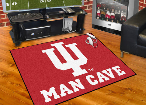 Indiana University Man Cave All-Star Mat 33.75x42.5 - FANMATS - Dropship Direct Wholesale