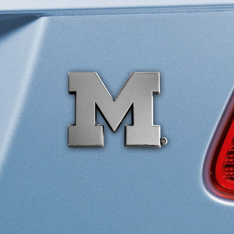 University of Michigan Emblem 2.1x3.2 - FANMATS - Dropship Direct Wholesale