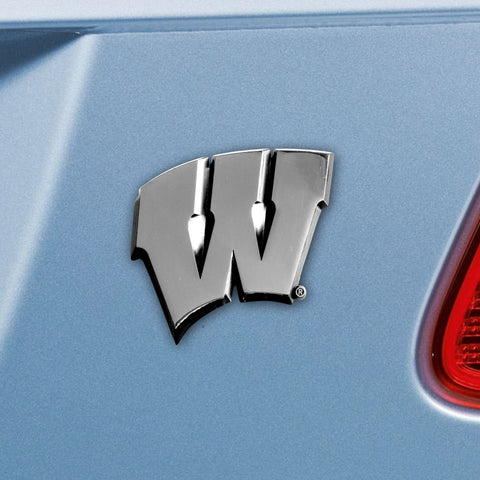 University of Wisconsin Emblem 3x3.2 - FANMATS - Dropship Direct Wholesale