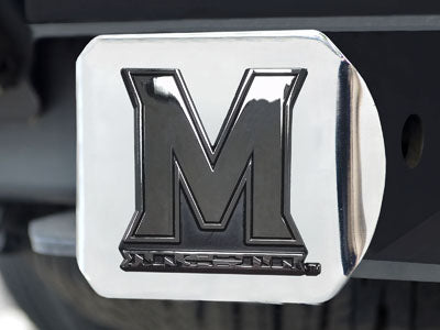 University of Maryland Hitch Cover 4 1/2x3 3/8