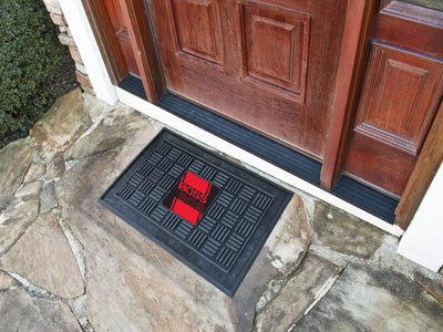 Boss 302 Medallion Door Mat - Red - FANMATS - Dropship Direct Wholesale - 2